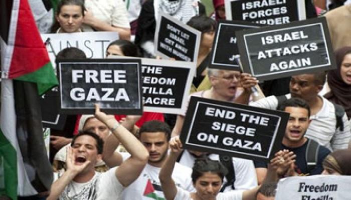حكم المشاركة في قوافل كسر حصار غزة