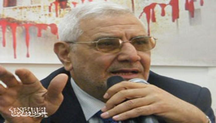 د. أبو الفتوح: مبادرات السلام مسئولة عن المجزرة الصهيونية