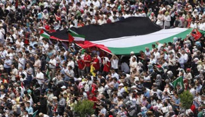 مظاهرة أمام مقر الحكومة البريطانية ضد مجزرة الكيان