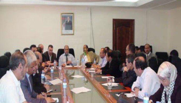 اجتماع طارئ للأحزاب الجزائرية ضد مجزرة الأسطول