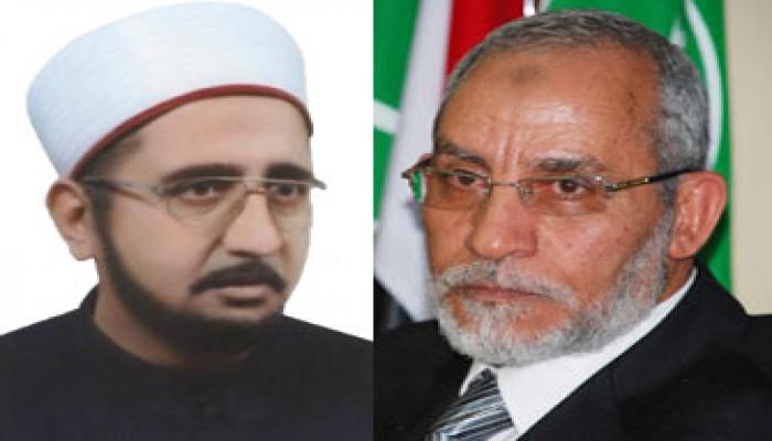 عزاء المرشد العام في نائب رئيس مجلس علماء العراق