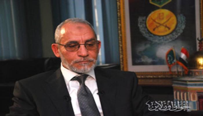 المرشد العام يحتسب عند الله محمود توفيق