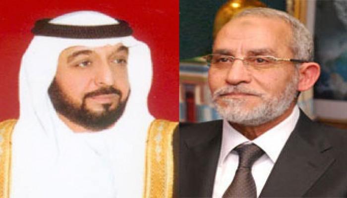 المرشد العام يعزي رئيس الإمارات في وفاة شقيقه