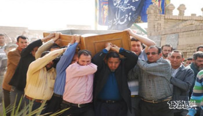 المرشد العام يتقدم مشيِّعي جنازة الحاج أبو شادي