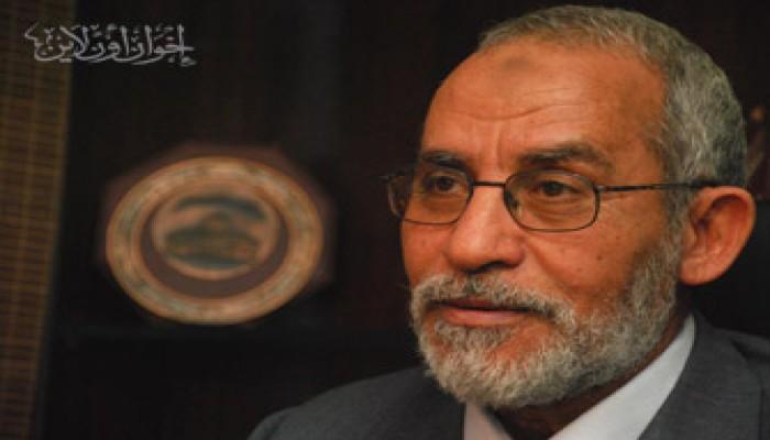 المرشد العام يقدِّم واجب العزاء في د. علي صبري