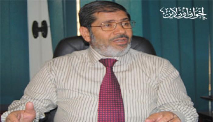 مرسي: الإخوان يدينون تأجيل تقرير جولدستون ويحذرون من مكر الصهاينة
