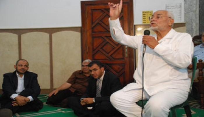 المرشد العام يحضر حفل زفاف نجل د. جمال عبد السلام