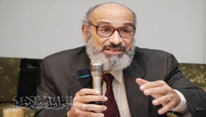 الإخوان المسلمون يدعون بالشفاء للدكتور الغزالي