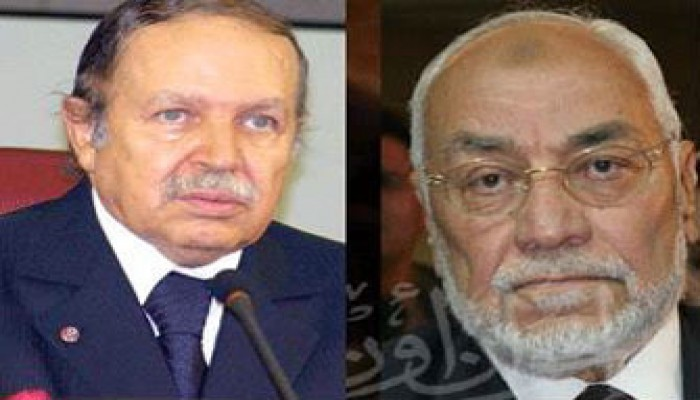 عزاء الإخوان المسلمين للرئيس بوتفليقة