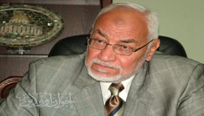 المرشد العام يستنكر استمرار معاناة د. عمر عبد الرحمن بأمريكا