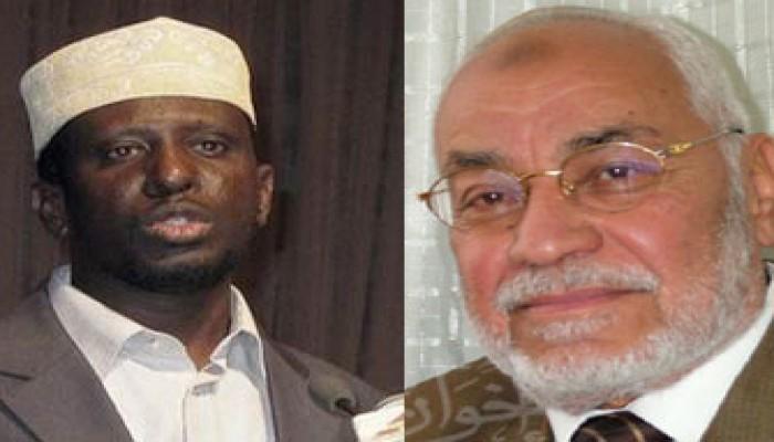 المرشد العام يهنئ شيخ أحمد برئاسة الصومال