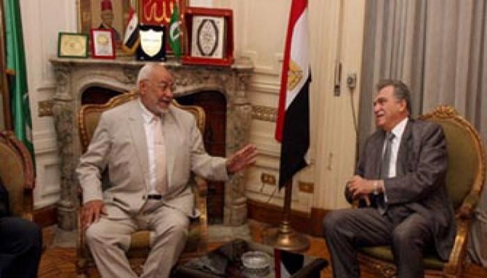 المرشد العام يزور مقر حزب الوفد