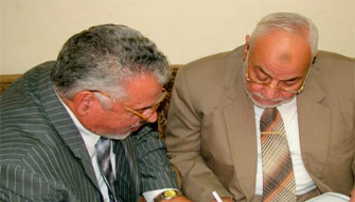 المرشد العام يعزي الحاج مسعود السبحي في وفاة ابن خاله