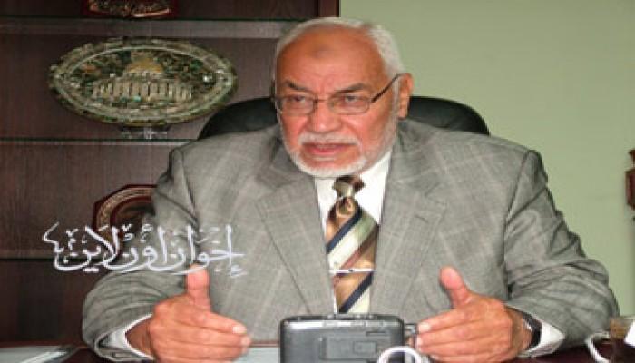 المرشد العام يشيد بكسر حصار غزة ويطالب بدور دولي مماثل