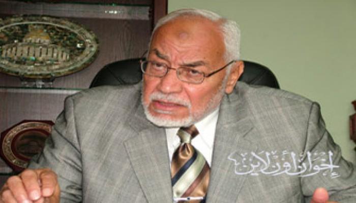 المرشد العام يطالب حماس وفتح بوقف الاتهامات والاعتقالات