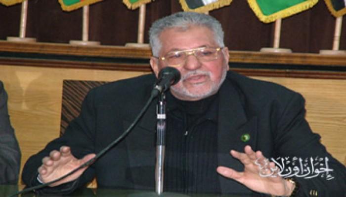 المرشد العام يعزي د. عبد القادر حجازي في وفاة خاله