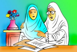 دراسة في وصية أمامة بنت الحارث ليلة زفاف ابنتها