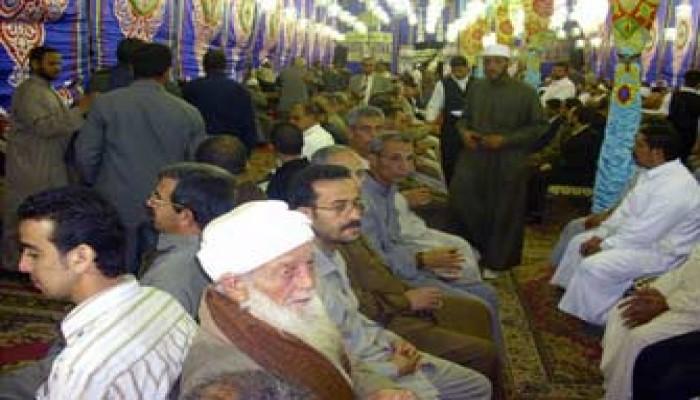 عزاء حاشد في وفاة النائب الشيخ ماهر عقل