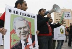 بيانٌ من الإخوان المسلمين حول زيارة بوش للمنطقة
