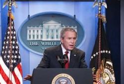 """حماس تنتقد دعوة بوش لمؤتمر حول فلسطين وتصفها بـ""""التقسيمية"""""""