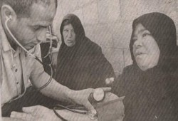 قافلة لجنة الإغاثة الإنسانية بدمياط تزور العريش ورفح