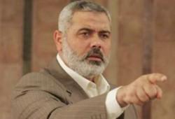 هنية يتهم أولمرت بمحاولة شق الفلسطينيين وأنباء عن استئناف مفاوضات الأسرى