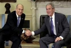 لقاء أولمرت- بوش.. مؤامرة جديدة على حماس