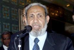 د. الزهار: حماس دخلت مقرات الرئاسة لحمايتها من الجموع الغاضبة