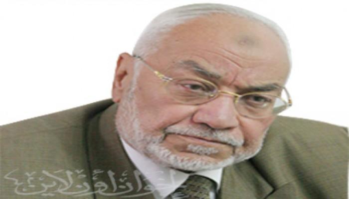 المرشد العام يشارك في تشييع جنازة عبد الحي أديب