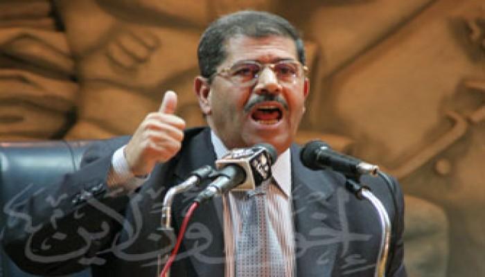 """اليوم.. مرسي يتحدث على أوربت عن """"الإسلام هو الحل"""" في انتخابات الشورى"""