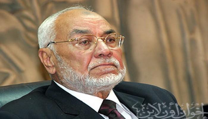 المرشد العام  يهنئ عباس ومشعل وهنية بحكومة الوحدة الوطنية الفلسطينية