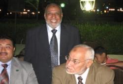 المرشد العام يحضر حفل زواج نجل محمود مجاهد