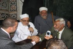 إخوان شرق القاهرة يهنئون العربي ونافع بالزواج السعيد