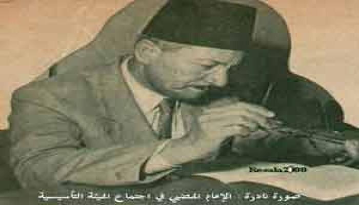 قادة الحركة الإسلامية يرثون الإمام الهضيبي