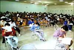 محطات الأمان للجان الامتحان