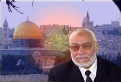 عاكف يطالب الشعوب الإسلامية والمسيحية بدعم الشعب الفلسطيني