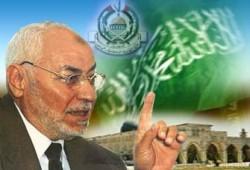 عاكف يطالب الأنظمة العربية والإسلامية بدعم حكومة حماس