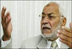 عاكف ينتقد الدعوة للطائفية بالعراق وموقف أوروبا من حماس
