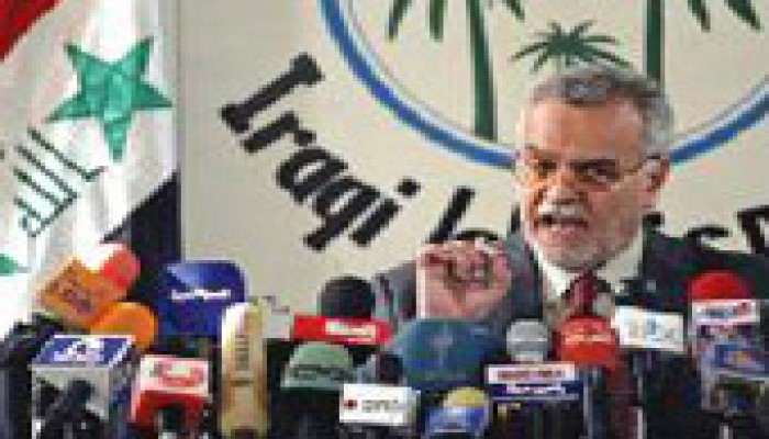 """العراق: """"التوافق"""" تتمسك بالملف الأمني وإطلاق الصحفية كارول"""