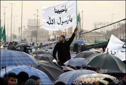 مسيرة ومهرجان حاشدان للإخوان المسلمين في الأردن