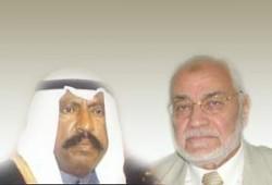 عاكف يعزِّي أمير الكويت الجديد في الشيخ جابر
