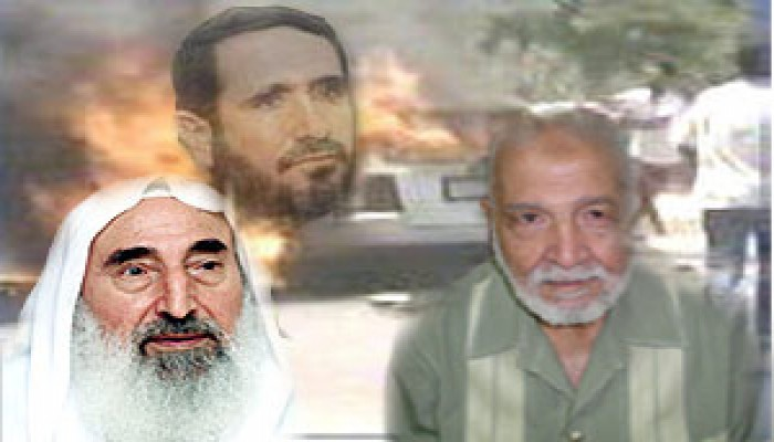 """""""الهضيبي"""": اغتيال """"أبو شنب"""" عملية إجرامية متوقعة من السفاح """"شارون"""""""