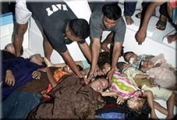 فقدان المئات في غرق عبّارة ببنجلاديش