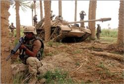 جماعات عراقية تتوعد الاحتلال مع استعدادات لتصدير النفط