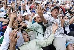 مليون إندونيسي يطالبون بإقرار قانون ينظم التعليم الديني