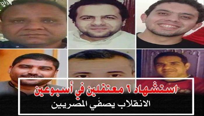 ميلشيات السيسي في أسبوع.. 19 حالة اغتيال و26 إخفاء قسري و109 اعتقال تعسفي