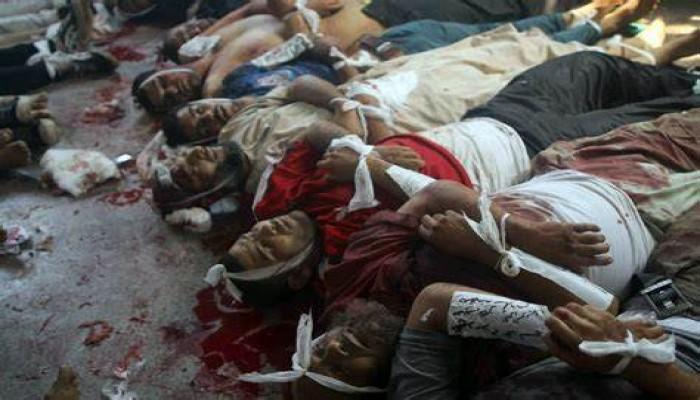 """عائلات شهداء مجزرة """"رابعة"""": لا بديل عن القصاص"""