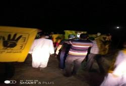 """فعالية ثورية بمحافظة البحيرة تنديدًا بجرائم الانقلاب في """"رابعة"""""""