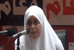 إضراب عائشة الشاطر عن الطعام رفضًا للانتهاكات التي تتعرض لها داخل محبسها
