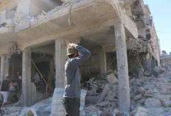 """قصف متواصل لميليشيات بشار على """"إدلب"""".. وحركة نزوح جديدة"""